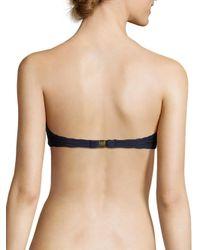 Heidi Klein - Blue V-bar Bandeau Bikini Top - Lyst