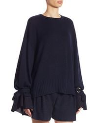Mother Of Pearl - Blue Nash Tie-sleeve Pullover - Lyst