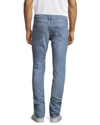 IRO - Blue Medium Cotton Slim Jeans for Men - Lyst