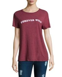 Spiritual Gangster - Multicolor Forever Wild Tee - Lyst