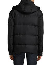 Sam. - Black Boulder Fur Lined Puffer Jacket for Men - Lyst