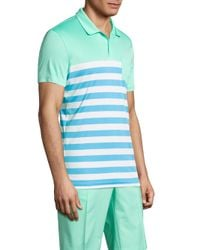 J.Lindeberg - Blue Carl Jersey Polo for Men - Lyst
