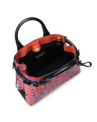 Burberry - Multicolor Small Banner Graffiti-print Leather Mini Bag - Lyst