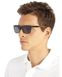 Shwood - Black Canby Walnut & Titanium Sunglasses for Men - Lyst