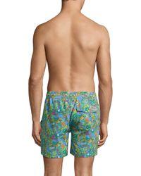Polo Ralph Lauren - Blue Poly Traveler Swim Trunks for Men - Lyst