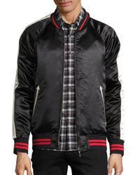 Ovadia And Sons - Black Reversible Souvenir Bomber Jacket for Men - Lyst
