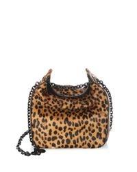 Kendall + Kylie - Multicolor Amy Leopard Print Satchel - Lyst