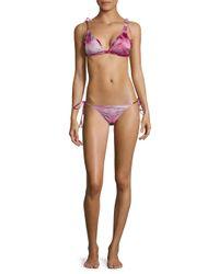 Made By Dawn - Multicolor Traveler Bikini Top - Lyst