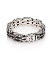 King Baby Studio - Metallic Sterling Silver Rotor Link Bracelet for Men - Lyst