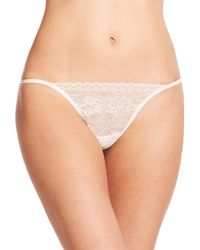 La Perla Natural Rosa G-string
