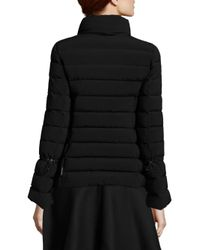 Moncler - Black Solanum Quilted Jacket - Lyst