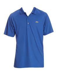 Lacoste - Blue Sport Technical Piqué Tennis Polo for Men - Lyst