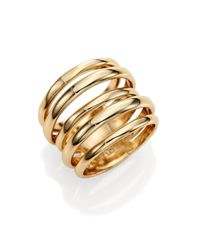 Alexis Bittar - Metallic Miss Havisham Kinetic Layered Ring - Lyst
