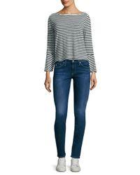 Splendid | Multicolor Striped Bell-sleeve Top | Lyst