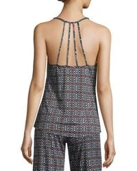 In Bloom - Black Scalloped Camisole - Lyst