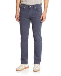 J Brand - Blue Woven Straight Pants for Men - Lyst