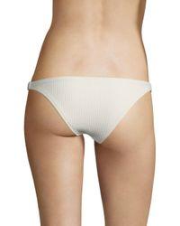 Made By Dawn - Multicolor Glimmer Ribbed Bikini Bottom - Lyst