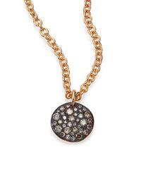 Pomellato - Pink Sabbia Brown Diamond & 18k Rose Gold Pendant - Lyst