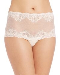 Mimi Holliday by Damaris - White Lace Triangle Bra - Lyst