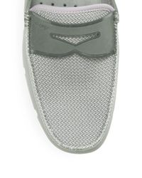 Swims - Gray Penny Loafers for Men - Lyst