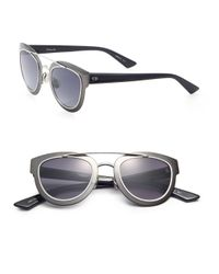 Dior - Black Chromic 47mm Cat's-eye Sunglasses - Lyst