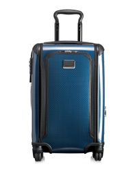Tumi - Blue International Expedition Carry-on Suitcase for Men - Lyst