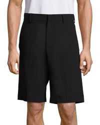 McQ Alexander McQueen - Black Solid Pull-on Shorts for Men - Lyst