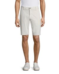 AG Green Label Gray Monochrome Canyon Shorts for men