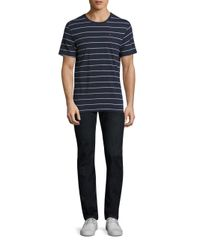 Barbour - Blue Bates Striped Tee for Men - Lyst