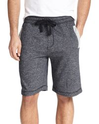 2xist | Black Terry Shorts for Men | Lyst