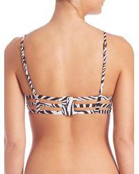 Pilyq - Multicolor Utopia Bralette Bikini Top - Lyst