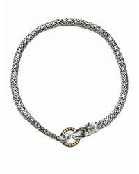 John Hardy - Metallic Naga 18k Yellow Gold & Sterling Silver Dragon Necklace - Lyst