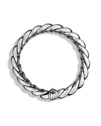 David Yurman - Metallic Hampton Cable Narrow Bracelet - Lyst