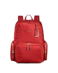 Tumi - Red Calais Nylon 15 Inch Computer Commuter Backpack - Lyst