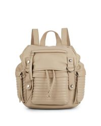 Steve Madden | Natural Broller Faux Leather Backpack | Lyst