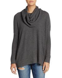 Joie | Gray Melantha Hi-lo Sweater | Lyst