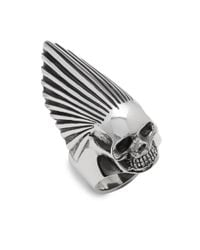 King Baby Studio | Metallic Sterling Silver Skull Ring for Men | Lyst