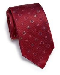 Eton of Sweden | Textured Silk Tie for Men | Lyst