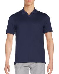 Vince Camuto | Blue Polo Shirt for Men | Lyst