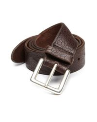 Orciani | Brown Cracked Leather Belt for Men | Lyst