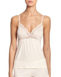 Eberjey - White Open Hearted Camisole - Lyst
