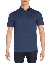Vince Camuto   Blue Logo Polo Shirt for Men   Lyst