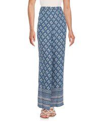 BCBGMAXAZRIA | Blue Joan Wide-leg Pants | Lyst