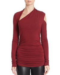 Bailey 44 - Red Expressionist Top - Lyst