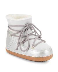 Ikkii Natural Shearling Lined Boots