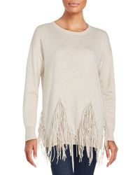 Zero Degrees Celsius | Natural Solid Wool Blend Sweater | Lyst