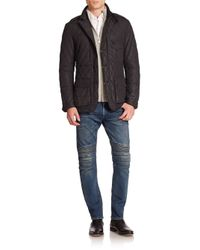 Ralph Lauren Black Label   Black Quilted Sport Jacket for Men   Lyst