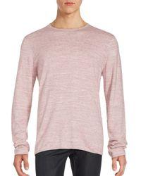 Vince | Pink Sporty Jaspe Mist T-shirt for Men | Lyst