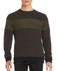 Cohesive & Co. | Black Stein Fleece Pullover Sweater for Men | Lyst