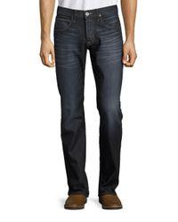 Hudson Jeans   Blue Whiskered Bootcut Jeans for Men   Lyst